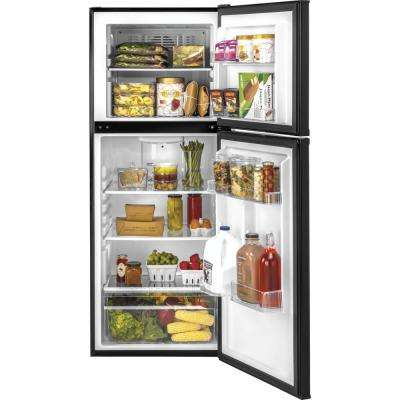 9.8 cu. ft. Top Freezer Refrigerator in Black