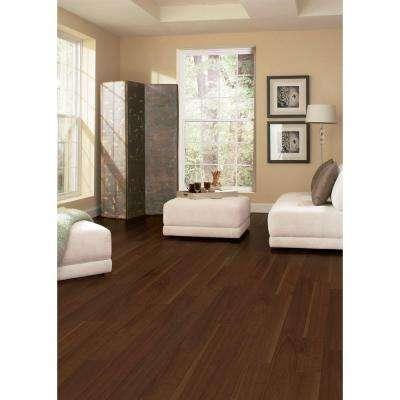 Matte American Walnut 1/2 in. T x 5 in. W x Varying Length Engineered Hardwood Flooring (26.25 sq. ft. / case)