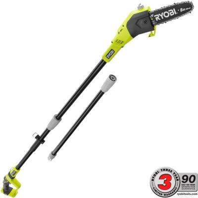 ONE+ 8 in. 18-Volt Lithium-Ion Cordless Pole Saw - Battery and Charger Not Included