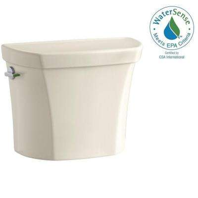 Wellworth 1.1 or 1.6 GPF Dual Flush Toilet Tank Only in Almond