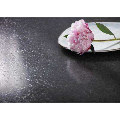 5 ft. x 12 ft. Laminate Sheet in Mineral Jet with Premiumfx Radiance Finish