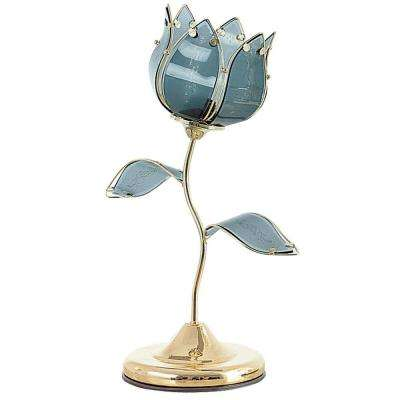 20 in. Gold Tulip Touch Table Lamp