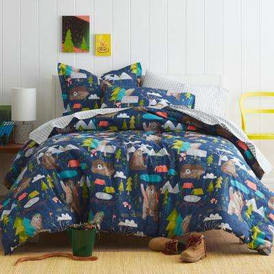 Bear Camp Cotton Percale Comforter