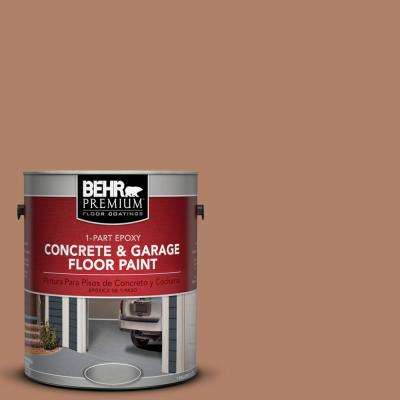 1 gal. #S210-5 Cider Spice 1-Part Epoxy Concrete and Garage Floor Paint