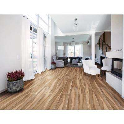 Aspenwood Cafe 9 in. x 48 in. Glazed Porcelain Floor and Wall Tile (12 sq. ft. / case)