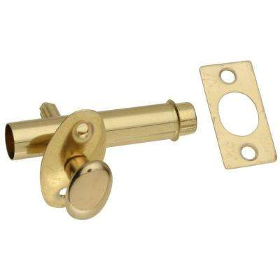 1-3/4 in. Mortise Bolt in Solid Brass