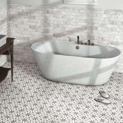 . Hexagon   Tile   Flooring   The Home Depot