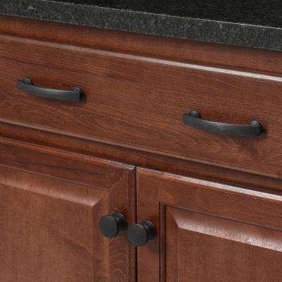 American Diner 1-3/8 in. Vintage Bronze Cabinet Knob