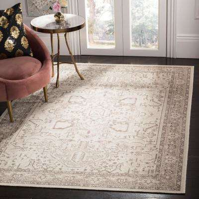 Essence Natural/Taupe 4 ft. x 6 ft. Area Rug