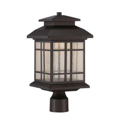 Piedmont Oil Rubbed Bronze Outdoor LED Post Lantern