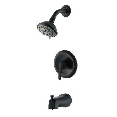 Middleton Single-Handle 3-Spray Tub and Shower Faucet in Oil Rubbed Bronze
