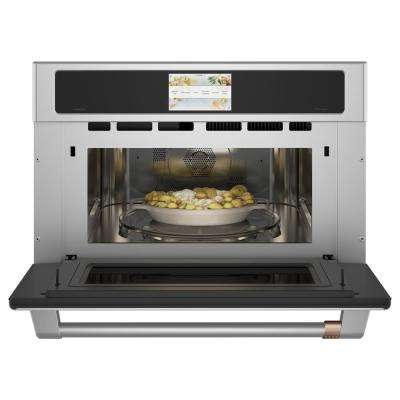 1.7 cu. ft. Electric Convection Built-In Microwave in Stainless Steel