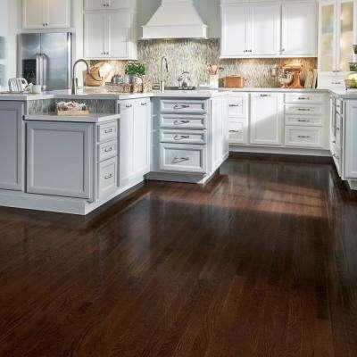 Dark Brown Hardwood Flooring Sample Bundle