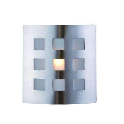 Sonio 1-Light Brushed Nickel Wall Sconce