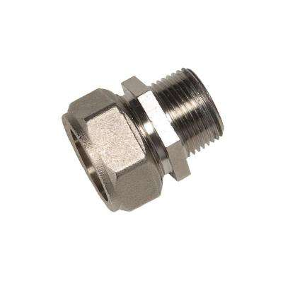 MaxLine 3/4 in. x 1/2 in. Brass Compression Male Adapter