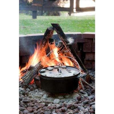 14 in. 10 Qt. Deep Cast Iron Camp Dutch Oven