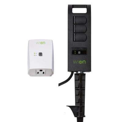 Wi-On Indoor Switch and Outdoor Wi-Fi Yard Stake Combo Pack