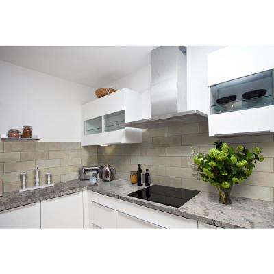 Ivory 4 in. x 12 in. Honed Travertine Floor and Wall Tile (2 sq. ft. / case)
