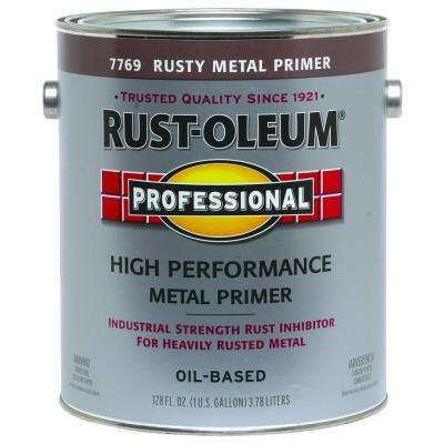 1 gal. Rusty Metal Flat Rust Preventive Primer (Case of 2)