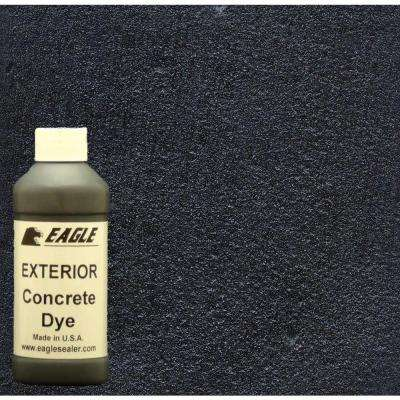 1-gal. Midnight Exterior Concrete Dye Stain Makes with Acetone from 8-oz. Concentrate