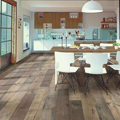 Take Home Sample - Rutherford Autumn Oak Laminate Flooring - 5 in. x 7 in.