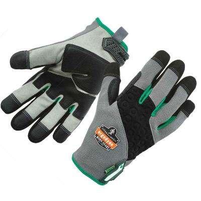 ProFlex Gray Heavy-Duty + Touch Work Gloves