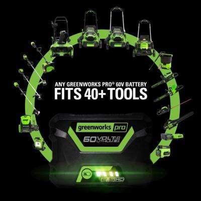 PRO 300-Watt 60-Volt Button Start Power Inverter with 2.0 Ah Battery