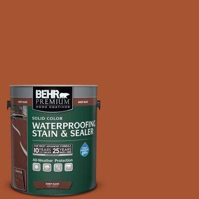 1 gal. #SC-136 Royal Hayden Solid Color Waterproofing Stain and Sealer