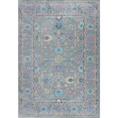 Heritage Gray 3 ft. 11 in. x 6 ft. Area Rug
