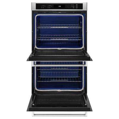 30 in. Double Electric Wall Oven Self-Cleaning in Stainless Steel