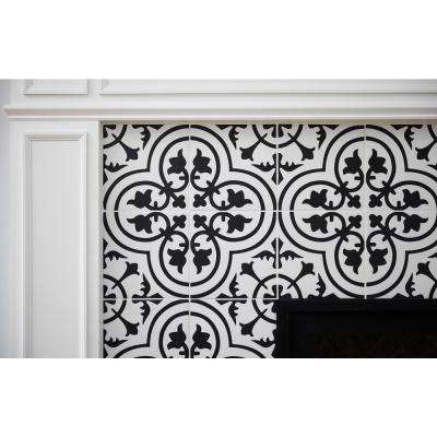Amantus Encaustic 8 in. x 8 in. Glazed Porcelain Floor and Wall Tile (5.33 sq. ft. / case)