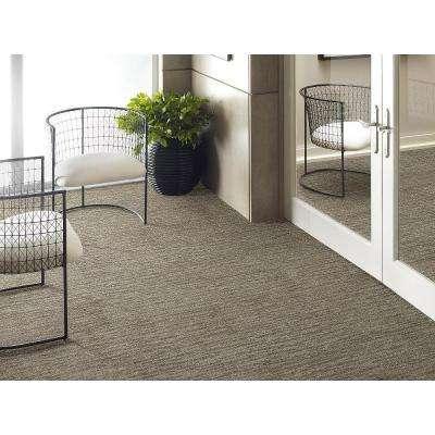 Dynamic Vision Desert Patterned 9 in. x 36 in. Carpet Tile (12 Tiles/Case)