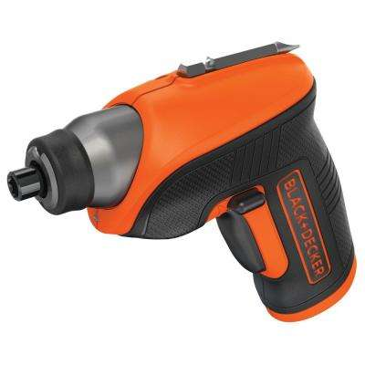 4-Volt MAX Lithium-Ion Cordless Rechargeable Screwdriver with Charger