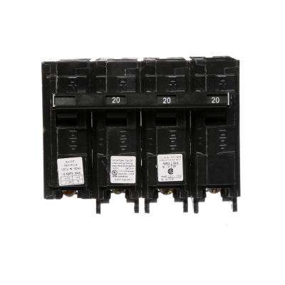 20 Amp Three-Pole Type QP Circuit Breaker with 120-Volt Shunt Trip
