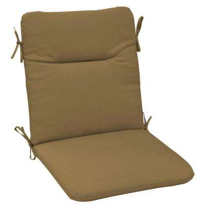 Sunbrella Canvas Cork Outdoor Dining Chair Cushion