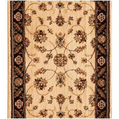 Stratford Kazmir Ivory 26 in. x Your Choice Length Roll Runner
