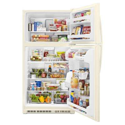 20.5 cu. ft. Top Freezer Refrigerator in Biscuit