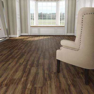 Horizontal Hand Scraped Sepia 1/2 in. T x 5 in. W x 38.58 in. L T&G Solid Bamboo Flooring (32.15 sq. ft. / case)