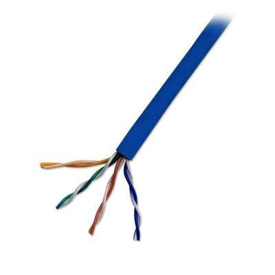 Category 5 1000 ft. Blue 24-4 Unshielded Twist Pair Cable