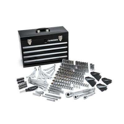 Mechanics Tool Set with Steel Storage Chest (250-Piece)