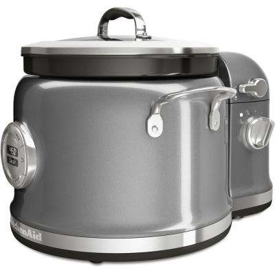 4 Qt. Stainless Steel Multi-Cooker with Stir Tower