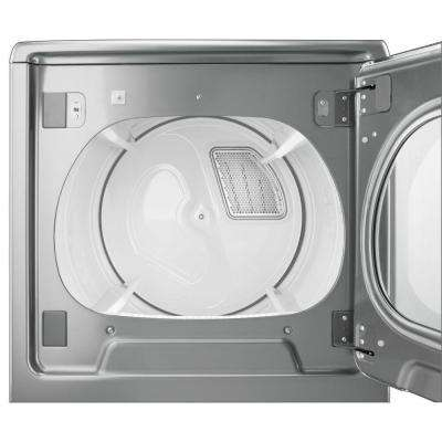 8.8 cu .ft. 120 Volt Chrome Shadow Smart Gas Vented Dryer with Remote Control