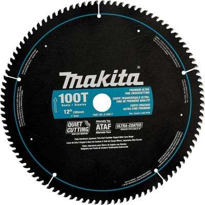 12 in. x 1 in. Ultra-Coated 100-Teeth Miter Saw Blade