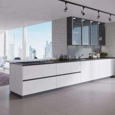 Undermount Composite Granite 32-5/8 in. Single Bowl Kitchen Sink in Ivory