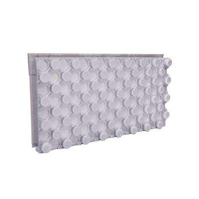 24 in. x 4 ft. R-10 Insulated Radiant Pex Panel
