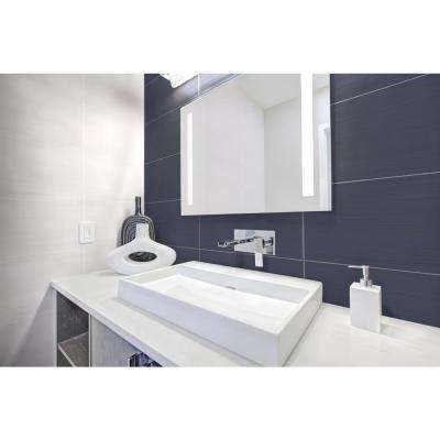 Maliblues 10 in. x 20 in. Glossy Ceramic Wall Tile (10.76 sq. ft. / case)
