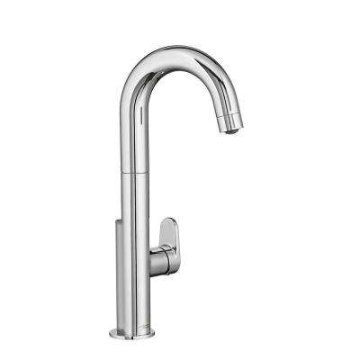 Beale Single-Handle Pull-Down Bar Faucet in Polished Chrome