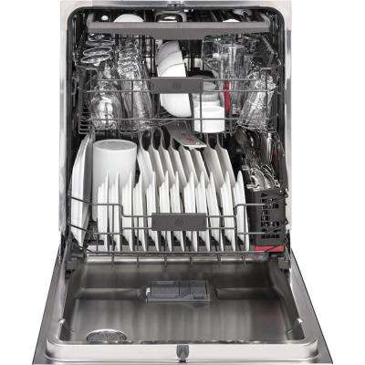 Profile Top Control Smart Dishwasher in Stainless Steel with Stainless Steel Tub and WiFi, 40 dBA