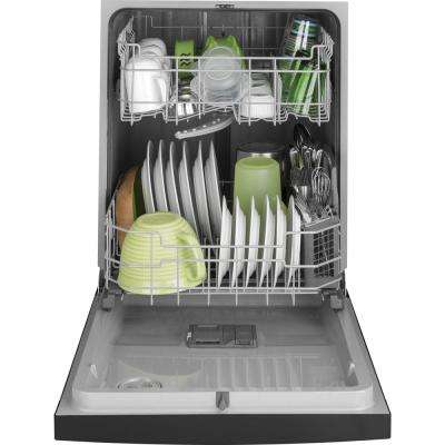 24 in. Front Control Built-in Tall Tub Dishwasher in Stainless, 59 dBA
