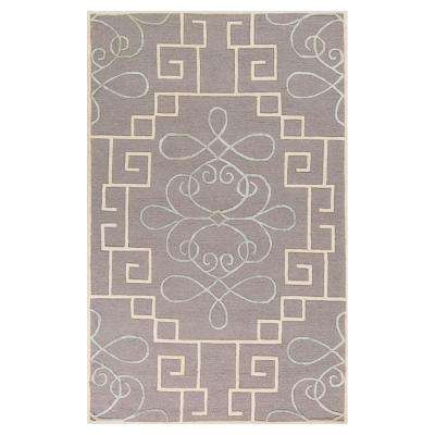 Simplicity Grey 8 ft. x 10 ft. 6 in. Area Rug